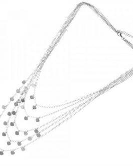 collana 5 fili con cuori