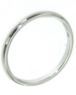 Fedina argento sottile