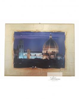quadro Firenze artigianale oro