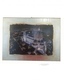 quadro Firenze artigianale argento
