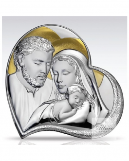 sacra famiglia decoro oro