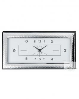Sveglia orizzontale in argento bil.30×14 martellata