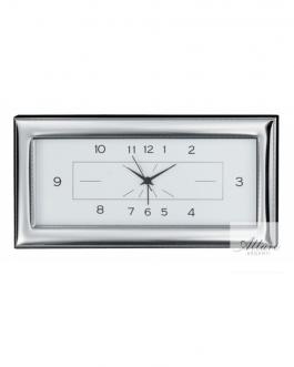 Sveglia orizzontale in argento bil.30×14