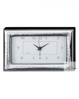 Sveglia orizzontale in argento bil.12×6 cm