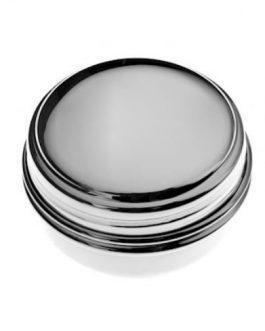 Scatolina argento con coperchio