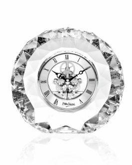 Orologio cristallo sfaccettato
