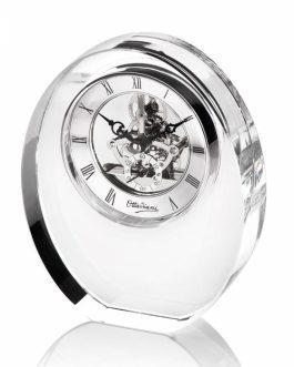 Orologio cristallo ovale