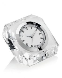 Orologio in cristallo quadro