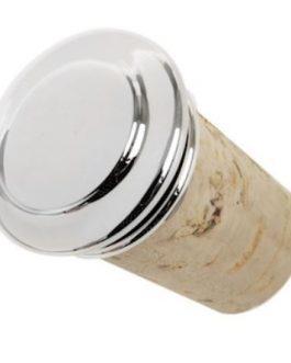 Tappo argento liscio