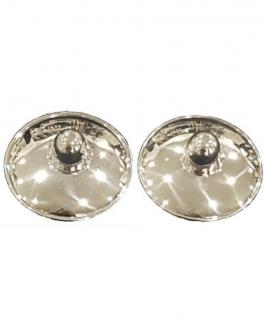 2 coppette in argento