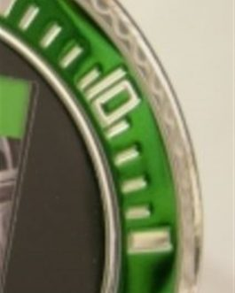 Cornice ghiera  verde