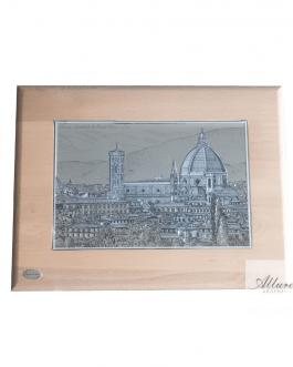 quadro Firenze a rilievo