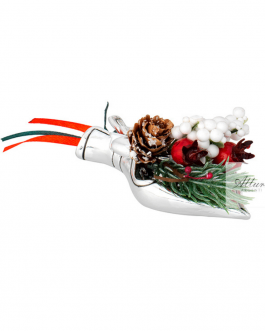 Bouquet natalizio – 3 pzz