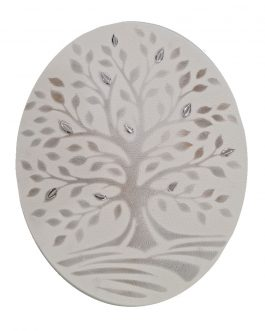 Quadro bianco albero della vita